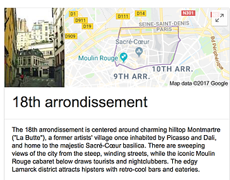18th Arrondissement Paris