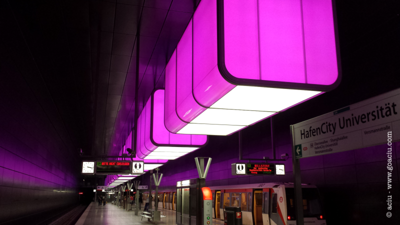 Hafencity Station, Hamburg