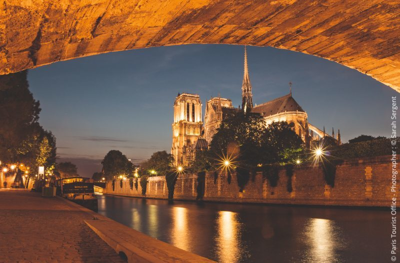 View of Notre Dame from the 5th
